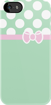 Tiffany &amp; Co. Inspired Polka Dot Case by Jenifer Jenkins