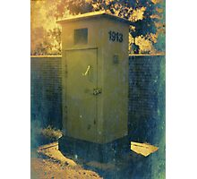 Vintage Post Box Photographic Print