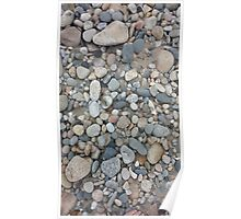 Ocean-Smoothed Stones in Narragansett, RI Poster