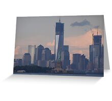 one world trade center; 7/29/2012 Greeting Card
