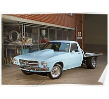 Ross' HQ Holden One-Tonner Poster