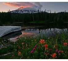 Mount Rainier Summer Photographic Print