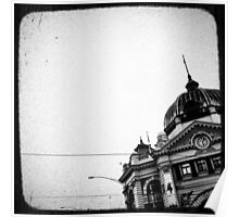 melbourne... fragments: flinders street station Poster