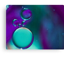 Blue Bubble's Canvas Print