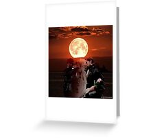 The Dark and Light Side of the Dark One Greeting Card