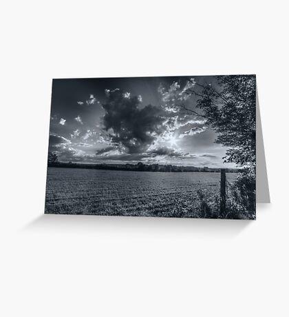 Clouds & Sun (Flare) Greeting Card