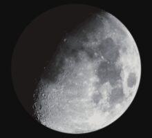 Waxing Gibbous Moon by JennHolton