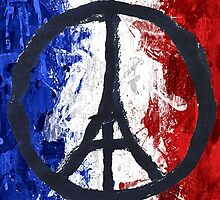 France Des Pray Prières Flag France by 5tup1dh4ck3r