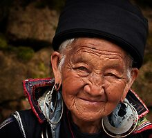 Grandmother - Sapa - Vietnam by Malcolm Heberle