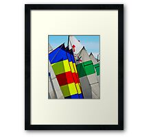 Mast in Colors Framed Print