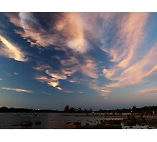 Dusk Skyscape over the Ottawa River Photographic Print