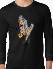 DR ORPHEUS' WARNING Long Sleeve T-Shirt