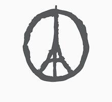 Peace for Paris - gray - paix pour Paris - gris - Pray Unisex T-Shirt