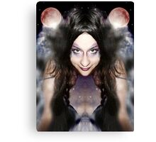She is the creator of her own universe Canvas Print