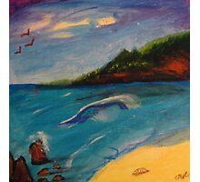 Lonely Seashore Photographic Print