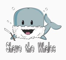 shave the whales One Piece - Short Sleeve