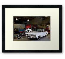 Kyle Smith's Valiant Wayfarer Ute Framed Print