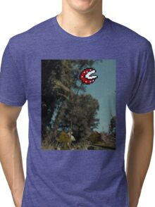 Piranha Plant Tri-blend T-Shirt