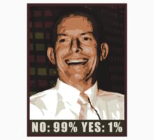 Tony says No: 99% Yes: 1% by realism