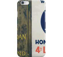 Wear your Fourth Liberty Loan honor button 4th Liberty Loan bonds iPhone Case/Skin