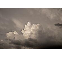 Clouds over Reno Nevada Photographic Print