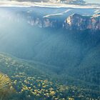 Perrys Lookdown, Blue Mountains, New South Wales, Australia by Michael Boniwell