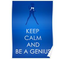 Keep Calm - Sailor Mercury Poster Poster