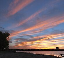 Sunset Skyscape over the Ottawa River by Max Buchheit