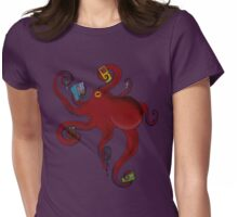Octopus Guardian Womens Fitted T-Shirt