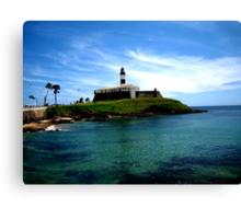 Barra Lighthouse  Canvas Print