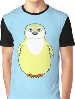 Light Yellow Baby Penguin Graphic T-Shirt