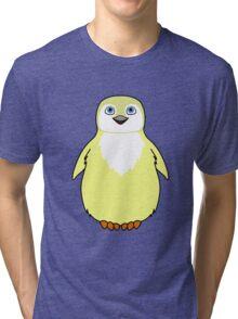Light Yellow Baby Penguin Tri-blend T-Shirt