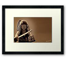 I am Captain Jack Sparrow Framed Print