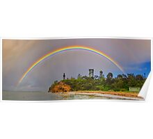 """Rainbow Over The Rip"" Poster"