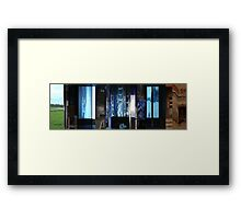 Moviebarcode: To Each His Own Cinema (2007) Segment: One Fine Day Framed Print