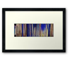 Moviebarcode: The Milky Way (1940) Framed Print