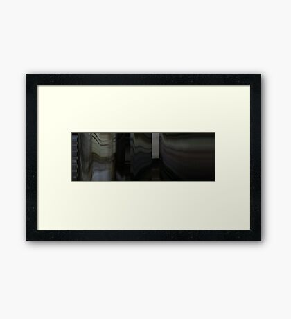 Moviebarcode: To Each His Own Cinema (2007) Segment: Trois minutes Framed Print