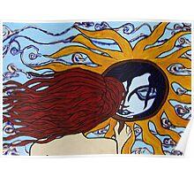 Sun Mirror Poster