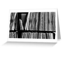 Vinyl Player Greeting Card