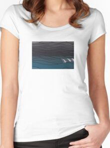 The Greyscale Collection no.9 Women's Fitted Scoop T-Shirt