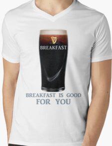 Breakfast is GOOD FOR YOU Mens V-Neck T-Shirt