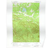 USGS Topo Map Washington State WA Lake Lawrence 241880 1959 24000 Poster