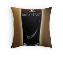 Breakfast is GOOD FOR YOU Throw Pillow