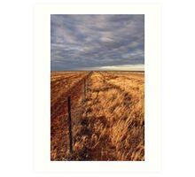 Hope of rain on the Hay Plain Art Print