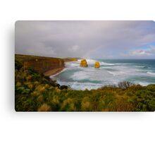 Gibson Steps Rainbow Canvas Print