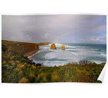 Gibson Steps Rainbow Poster