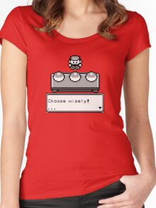 Choose your Companion Women's Fitted Scoop T-Shirt
