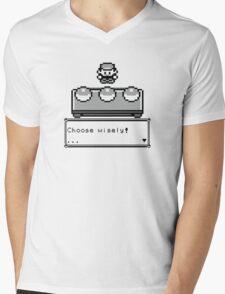 Choose your Companion Mens V-Neck T-Shirt