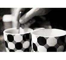 Day 3 - Monday Morning - Coffee stirring Photographic Print