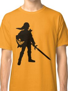 The Legend of Zelda Link Silhouette Classic T-Shirt